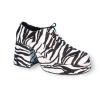 Zebra Platform Shoes Adult